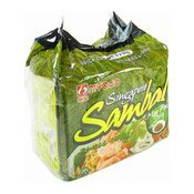 Instant Noodles Multipack (Singapore Sambal Mee Poh Dry) (明星新加坡麵薄)