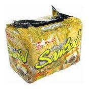 Instant Noodles Multipack (Singapore Sambal Mee Goreng) (明星新加坡參峇炒麵)