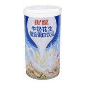 Milk Peanut Protein Drink (牛奶花生蛋白飲品)