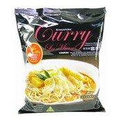 Singapore Curry La Mian (Noodles in Aromatic Curry Soup) (新加坡咖哩麵)