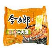 Big Instant Noodles (Spicy Beef) (今麦郎香辣牛肉弹面)