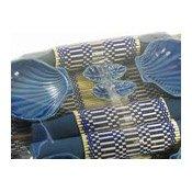 Royal Blue Shell Dining Set (4 Place Settings) (藍色筷子套禮包)
