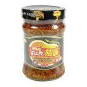 XO Mushroom Sauce (Authentic Szechuan) (百山祖川味香菇醬)