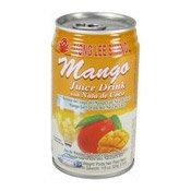 Mango Juice Drink With Nata De Coco (萬里香芒果露)