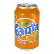 Fanta Orange Flavour (橙汁汽水)