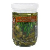 Pickled Green Chillies (Whole) (雄雞浸青辣椒)