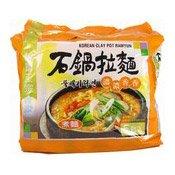 Korean Clay Pot Ramyun Instant Noodles Multipack (農心石鍋拉面)