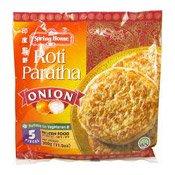 Roti Paratha (Onion) (5 Pieces) (印度煎餅)