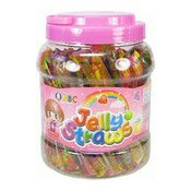 Jelly Straws (Assorted Fruit Flavours) (什果果凍 (桶))