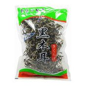 Dried Black Fungus Strips (Pak Pui Wood Ear) (木耳絲)