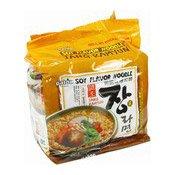 Instant Oriental Style Noodles Multipack (Jang Ramen Soy Flavour) (御膳味增拉麵)