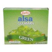 Alsa Gulaman (Green) (大菜糕粉 (綠色))