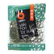 Yaki Nori Seaweed For Sushi (壽司紫菜)