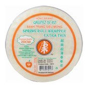 Spring Roll Wrappers Extra Thin (20cm) (康字米紙)