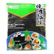 Yaki Sushi Nori (Sushi Seaweed) (壽司用烤海苔)