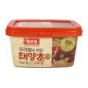 Hot Pepper Paste (Taeyangcho Gold Gochujang) (韓國辣椒醬)
