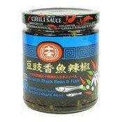 Chilli With Black Beans & Fish (十全豆豉香魚辣椒)