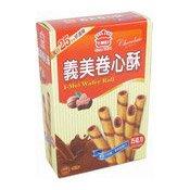 Wafer Rolls (Chocolate) (義美巧克力卷心酥)
