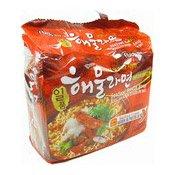 Seafood Noodles Soup Multipack (御鮮章魚海鮮麵)