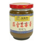 Mixed Sesame Peanut Paste (王致和混合芝麻醬)