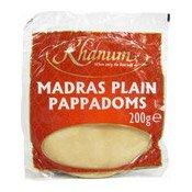Madras Plain Pappadoms (Poppadom) (印度薄餅)