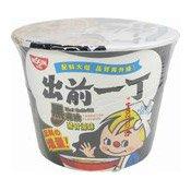 Instant Bowl Noodles (Black Garlic Oil Tonkotsu) (出前一丁碗麵(黑蒜猪骨))
