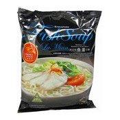 Singapore Fish Soup La Mian (Noodles in Aromatic Fish Soup) (新加坡魚湯拉麵)