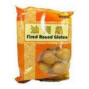 Fried Round Gluten (康樂油麵筋)