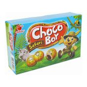 Choco Boy Safari Filled Biscuits (朱古力餅)