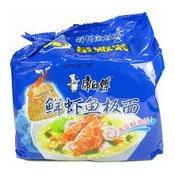 Instant Noodles Multipack (Shrimp) (康師傅鮮蝦魚板麵)