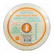 Spring Roll Wrappers Extra Thin (22cm) (康牌越南春卷皮 22CM)