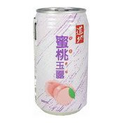 Peach Juice Drink (With Nata De Coco) (道地蜜桃玉露)
