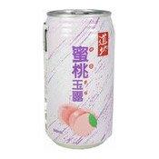 Peach Juice Drink (With Nata De Coco) (道地蜜桃玉露)