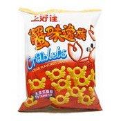 Crablets Crab Flavoured Snacks (上好佳蟹味逸族)