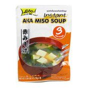 Instant Aka Miso Soup (Red Miso) (赤麵豉湯)