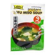 Instant Tofu Miso Soup (麵豉湯)
