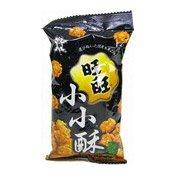 Mini Fried Senbei Rice Crackers (Seaweed) (旺旺小小酥海苔辣味)