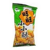 Mini Fried Senbei Rice Crackers (Spring Onion & Chicken) (旺旺小小酥香葱雞味)
