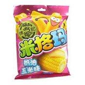 Puffed Rice Rolls (Cream Corn) (徐福記奶油玉米味米果卷)