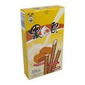 Milk Wafer Rolls (Caramel) (旺旺黑白配牛奶糖味)