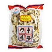 Dried Mushroom Strips (Shiitake Slices) (小魚兒冬菇絲)