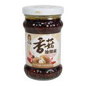 Oil Chilli Condiment With Mushroom (老乾媽香菇油辣椒)