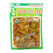 Sour & Spicy Pickles (吉香居酸辣泡菜)