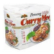 Penang White Curry Mee Instant Noodles Multipack (Kari Putih) (檳城白咖哩麵)