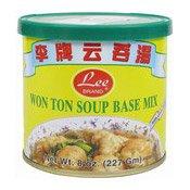 Wonton Soup Base Mix (Wanton) (李牌云吞湯)