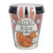 Instant Korean Sticky Rice Cake Sticks Pot (韓式即食年糕杯)