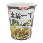 Cup Noodles (Black Garlic Oil Tonkotsu) (出前一丁黑蒜油豬骨杯麵)