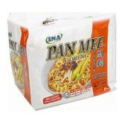 Pan Mee Goreng Instant Noodles Multipack Dried Chilli Shrimp (三巴蝦米乾撈板麵)
