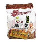 Shrimp Egg Noodles Multipack (XO Sauce) (壽桃XO醬蝦子撈麵)