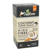 Baked Coconut Chunks (Black Pepper) (黑椒干椰片)